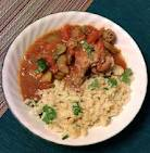 moroccan stew Moroccan Stewed Chicken