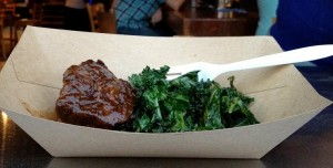 Shortribs and kale