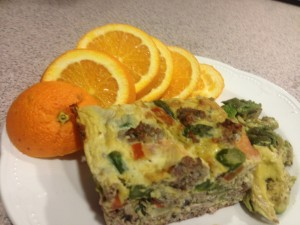 Italian fritatta, paleo and zone friendly.