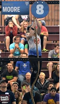 Emmalee Moore rope climb Coaches & Staff