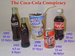 The evolution of Coca-Cola