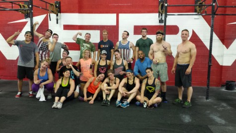 Here is one of the groups for Murph on Memorial Day! Nice pic Kenny.