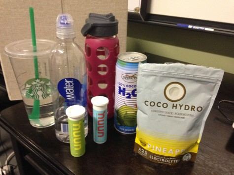 Just a few of the tools that can aid in hydration. Drink up!