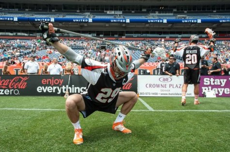 Lee Zink - 2013 MLL Defensive Player of the Year - Using his Fitness at an Elite Level. Pretty solid overhead squat.