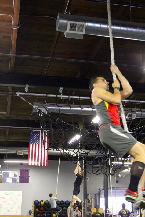 Jeff improving his rope climbs and becoming harder to kill.