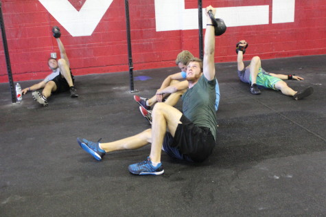 Who doesn't like 1/2 Turkish get-ups after a WOD?