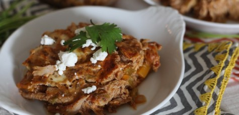 chicken enchilada bake 475x229 Wednesday 140716