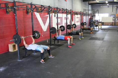 Swoie session going down at CrossFit Verve
