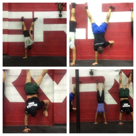 Handstands!! When walking on your feet isn't good enough!