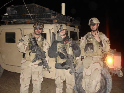 Nick Wilson (in the middle) is an EOD Technician killed in action February 12, 2006 while trying to disarm an IED.