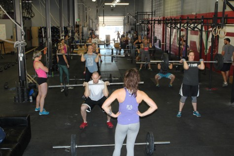 Great turnout for this pasts weekend memorial WOD.  Just another reason we all love this place!