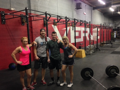 Verve's very own group of full time trainers banded together to make up Team AC/EC for The CrossFit Games Team Series. Team AC/EC came in 25th in the Southwest region and 251st  worldwide out of 1,080 teams.
