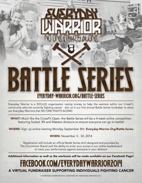 battle series flyer 475x610 Saturday 141025