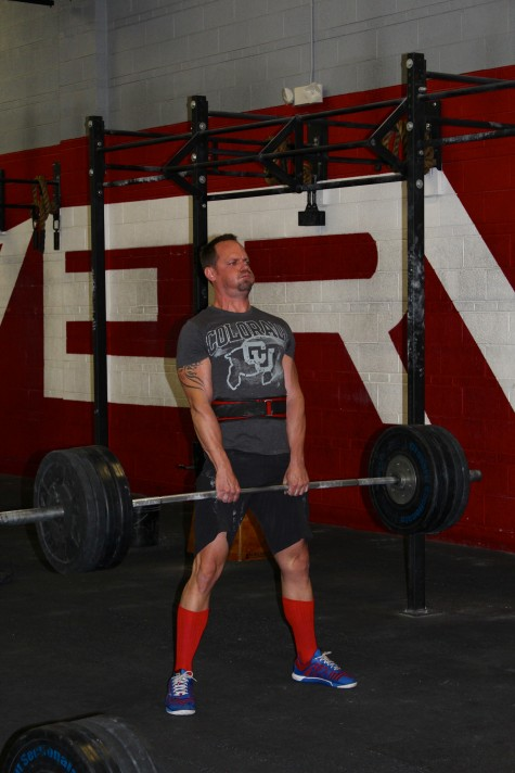 Congrats Trevor on a 45# PR Monday on his conventional 2RM DL!