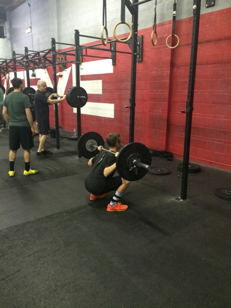 Jordan Afraimi, 14 years old , hitting a 1RM back squat of 170#. Strong work Jordan!!