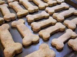 Yummy dog biscuits!
