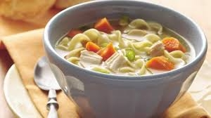 Delicious 4 block Chicken Noodle soup!