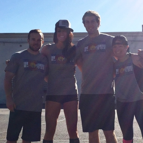 Congrats to TEAM TWO TALL TWO SHORT!  They competed in the Mighty Rhino on Saturday @ CF Unbroken!
