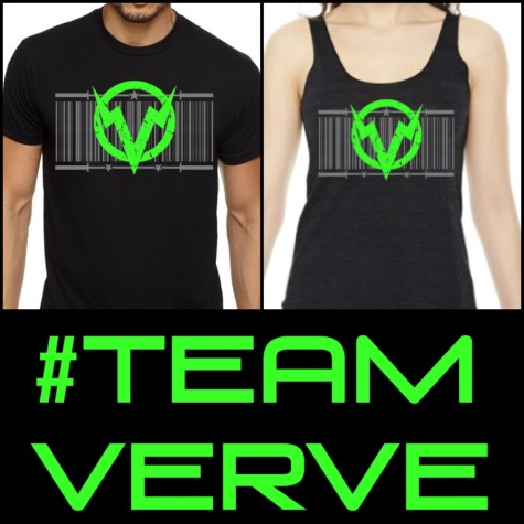 #teamverve Regional shirts, get 'em while you can!!