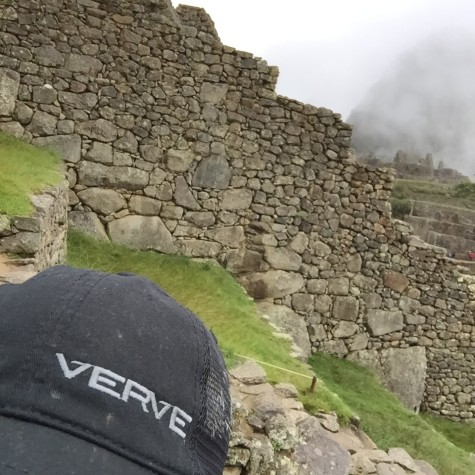 Mike Campbell bringing a little Verve with him to Peru.
