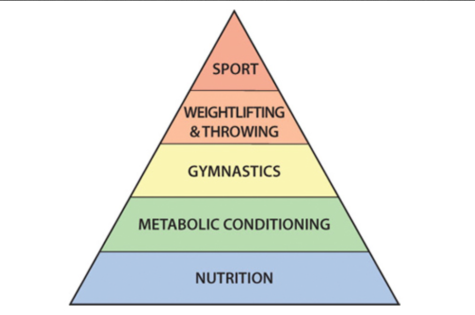 The theoretical hierarchy of athletic development.
