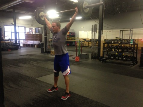 "Joe said ""I don't need to watch the Broncos game, I need to PR my overhead squat!"" and he did!"