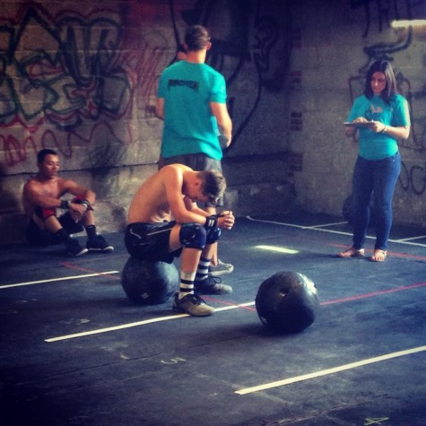 Congratulations Jordan on competing in your first CrossFit competition!! We are proud to say you are one of our athletes.