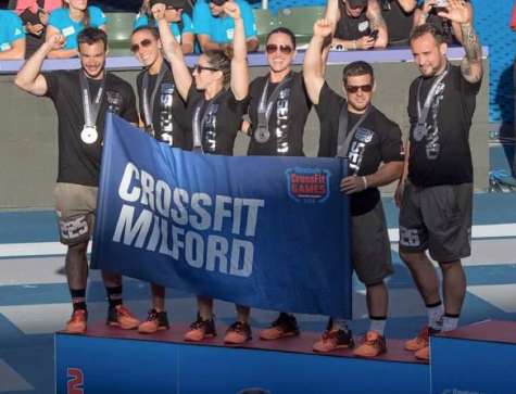 CrossFit Milford finishing 2nd at the 2015 CrossFit Games.