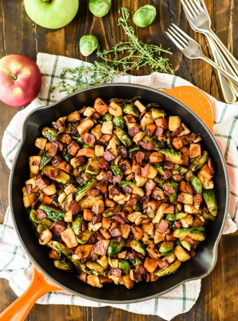 Throw all of your fall faves in this skillet!