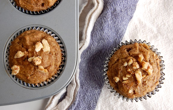 Delicious muffins, even without some of the ingredients! Oops