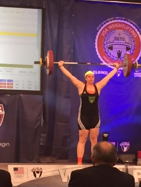 A huge congratulations to Shaina on her 91kg (200#) snatch PR while competing in the American Open Championships this weekend.