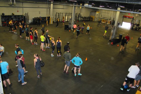 Great look from above at the 11 am class on Saturday.