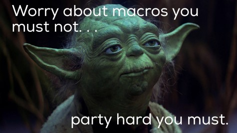 Wise words from a wise Yoda.