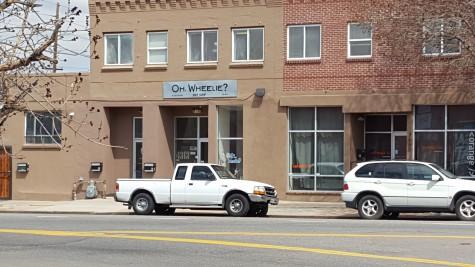 Oh, Wheelie? Bike shop next to Verve.