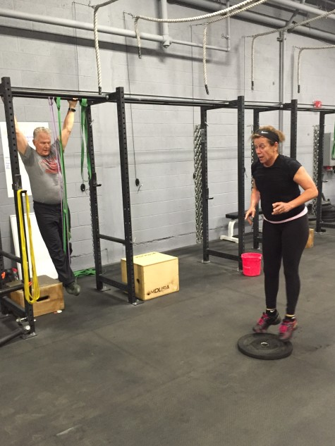 #tbt to last week when Howard and Vicki Kingry came to Sprint to workout together and celebrate 40 years of marriage!! Congratulations, and here is to making health a priority and working towards another 40 years.