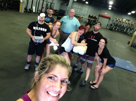 #tbt to when Verve trainers spent a Saturday getting CPR certified. Be scared, be very scared.