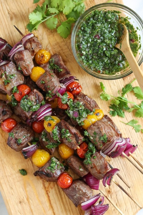 The sauce is what makes the kabobs fabulous!!