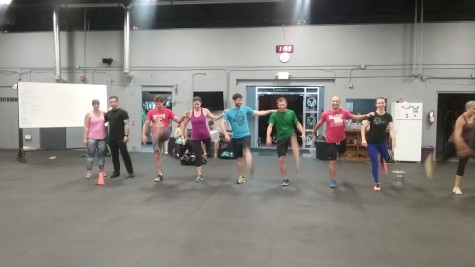 The 5:30am class working on their Rockett skills and Phoebe and Chance just giving us blue steel.