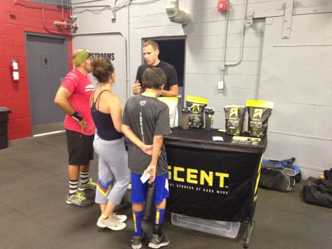 The Afraimi family working on their gains, thanks to Josh and Ascent.