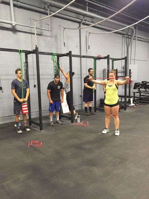 Not everything about Barbell Club is with a barbell.