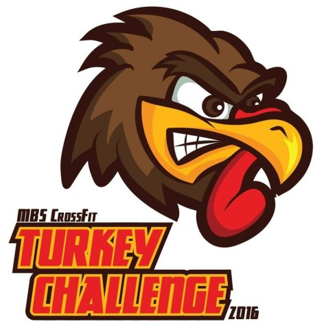 Don't forget that team registration for the Turkey Challenge is tomorrow (Monday) at 9am!