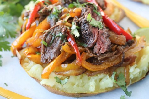 Steak Fajita Sweet Potato