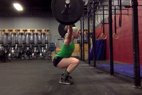Short shorts and squats. Every CrossFit athletes dream??