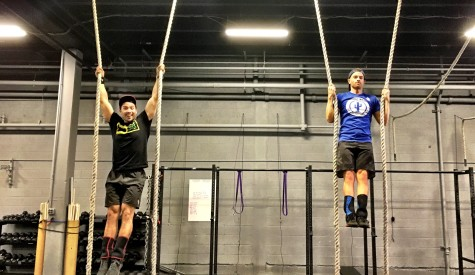 Team CrossFit S&M (it stands for Stan & Mick, get your heads out of the gutter)