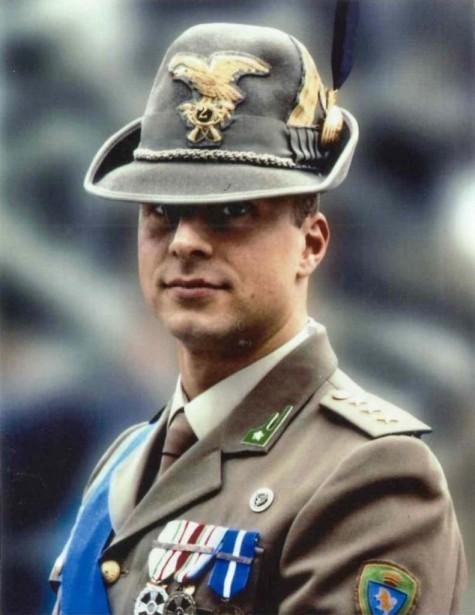 Italian Army Capt. Manuel Fiorito