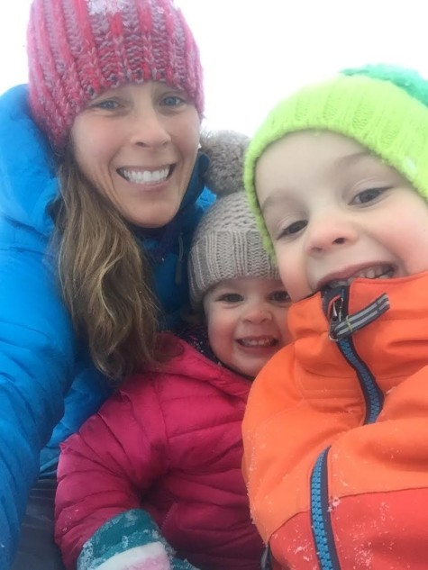 Katie T and her adorable kids Arne and Annika!