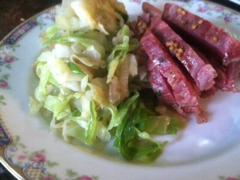 It's about that time for some corned beef and cabbage!