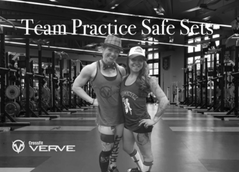 Practice Safe Sets led by captain Jen Kates and co-captain Danni Brooks
