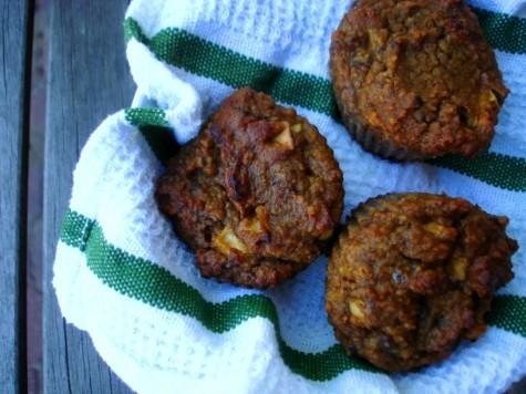 PaleOMG Apple Cinnamon Muffins