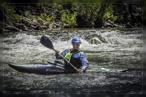 Patrick showing those rapids who is boss!